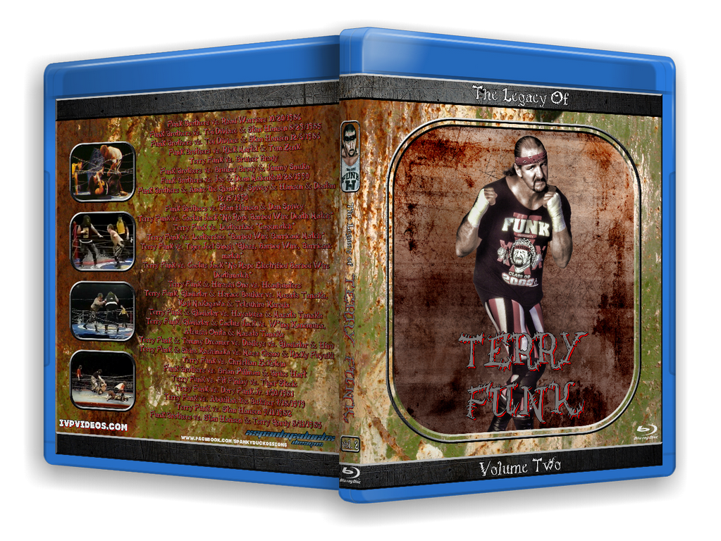 Legacy of Terry Funk V.2 (Blu-Ray with Cover Art)