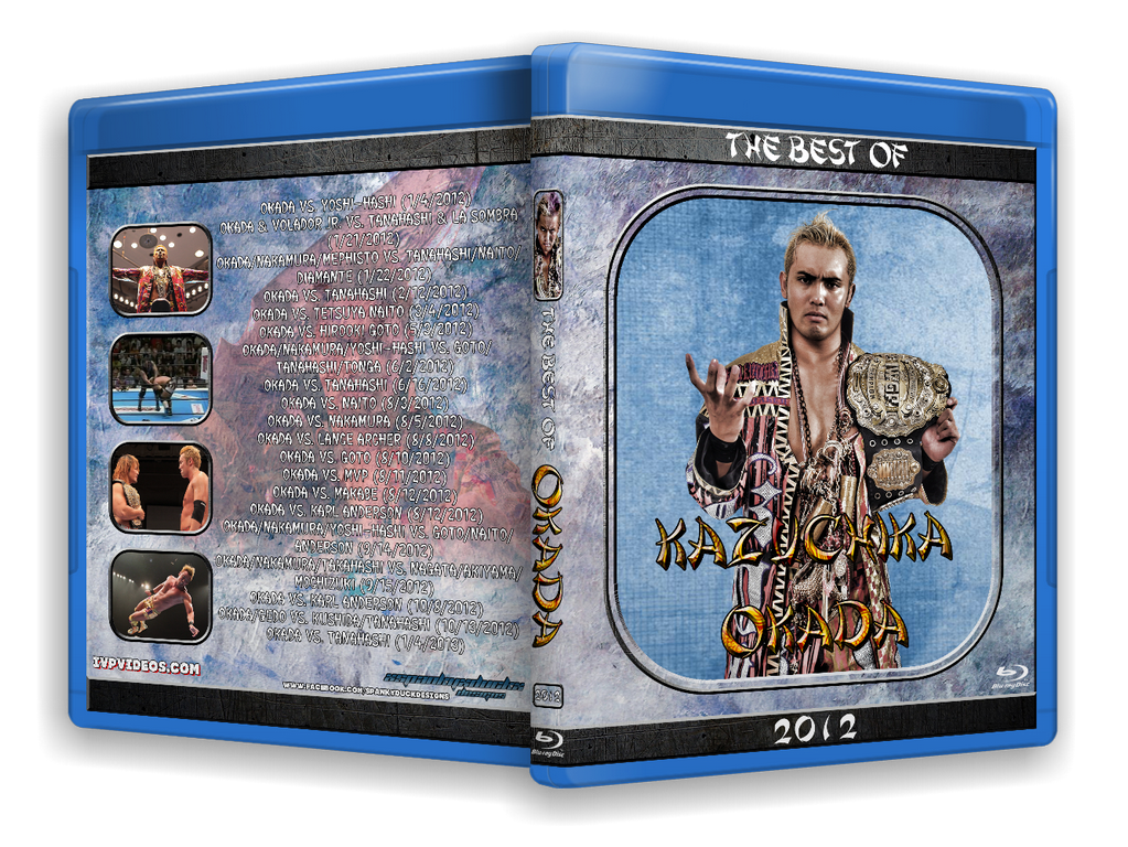 Best of Okada in 2012 (Blu-Ray with Cover Art))