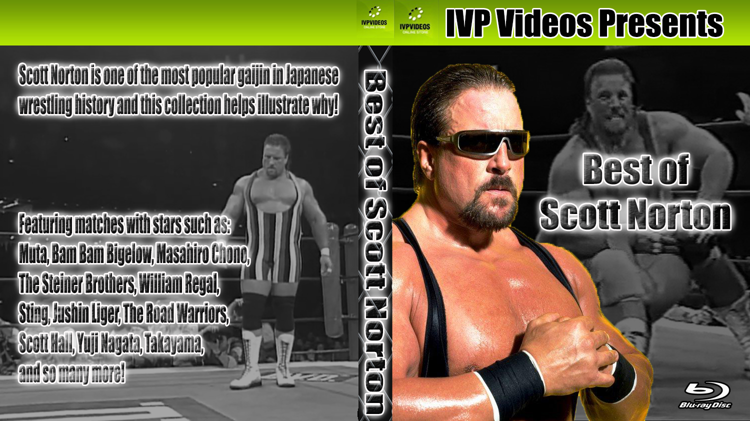 Best of Scott Norton (Blu-Ray with Cover Art)