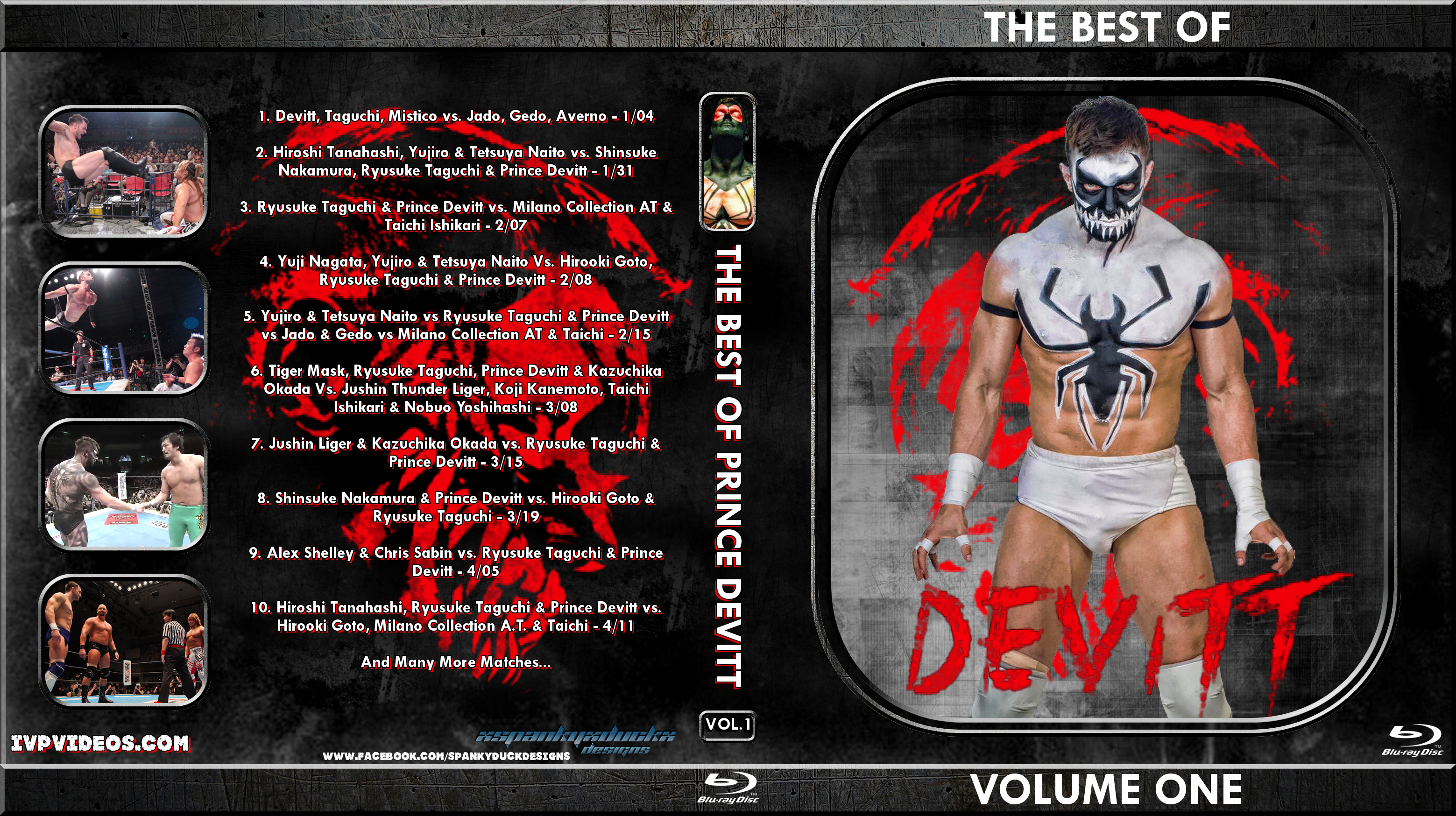 Best of Prince Devitt V.01 (Blu-Ray with Cover Art)
