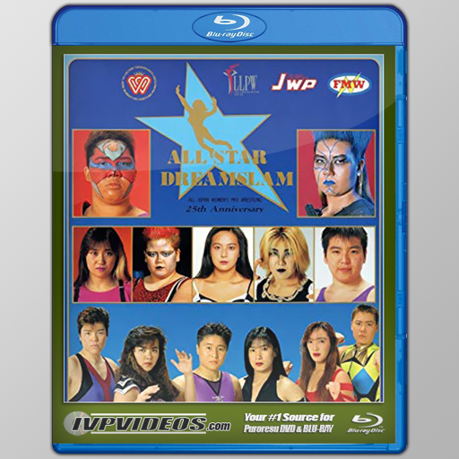 AJW Dreamslam 1 (Blu-Ray with Cover Art)