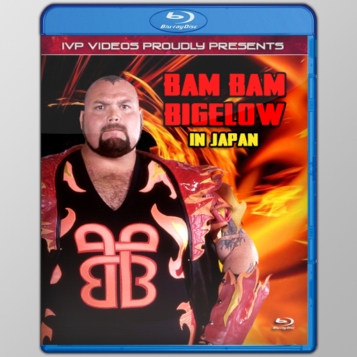 Best of Bam Bam Bigelow (Blu-Ray with Cover Art)