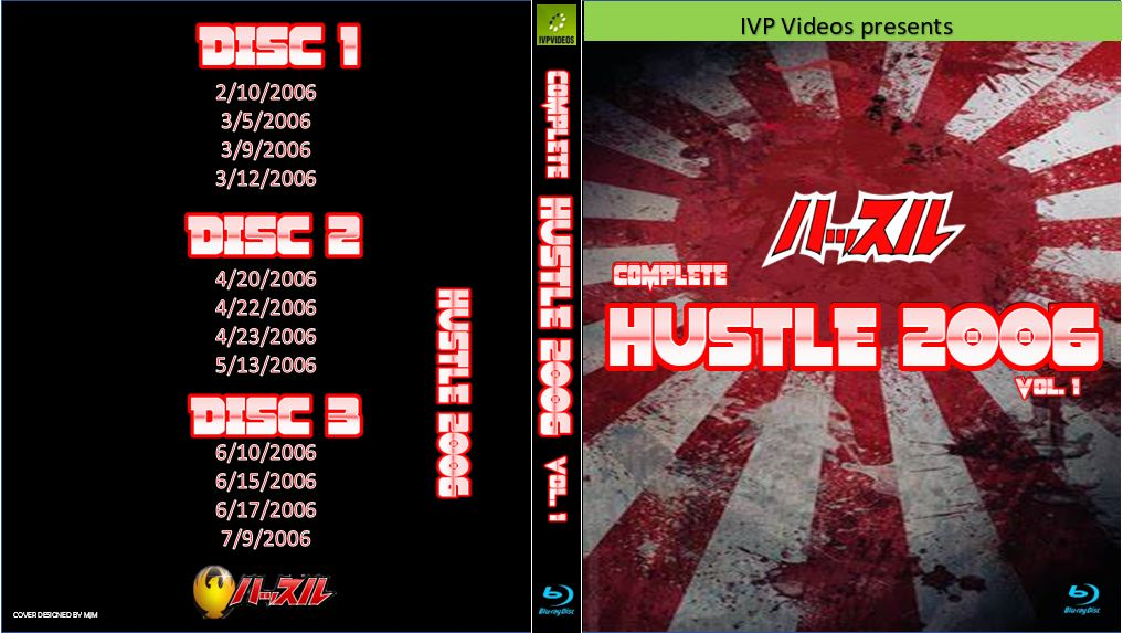 Complete Hustle in 2006 V.1 (3 Disc Blu-Ray with Cover Art)