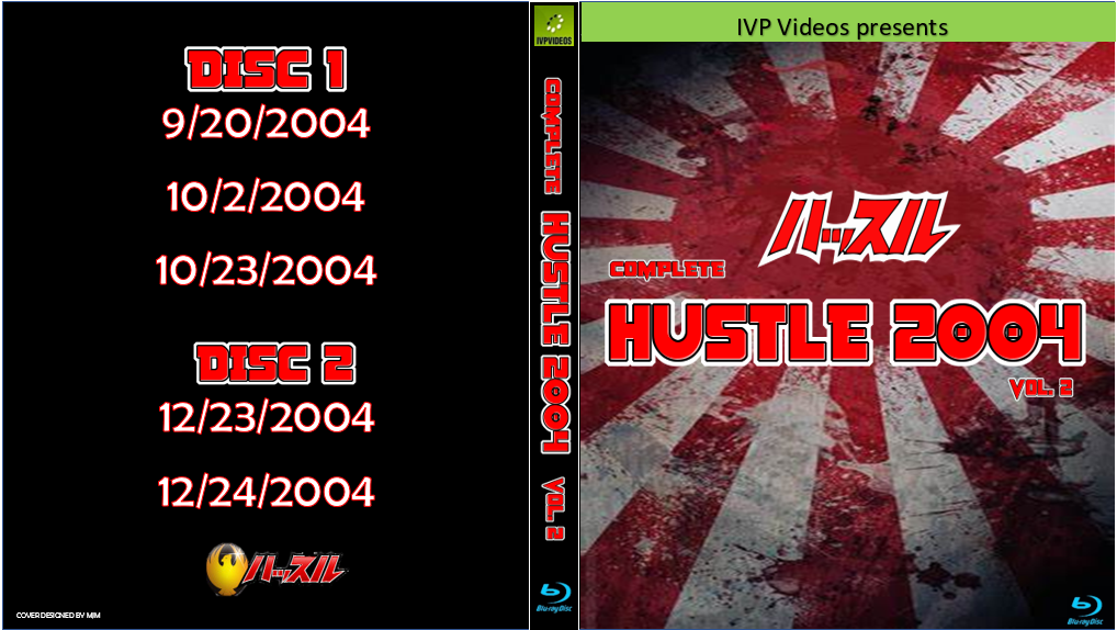 Complete Hustle in 2004 V.2 (2 Disc Blu-Ray with Cover Art)