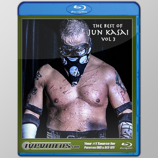 Best of Jun Kasai in BJPW V.3 (Blu-Ray with Cover Art)