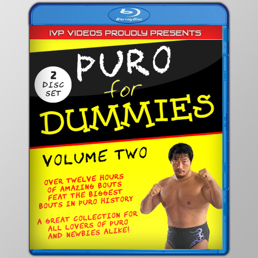 Puro for Dummies V.02 (2 Disc Blu-Ray with Cover Art)