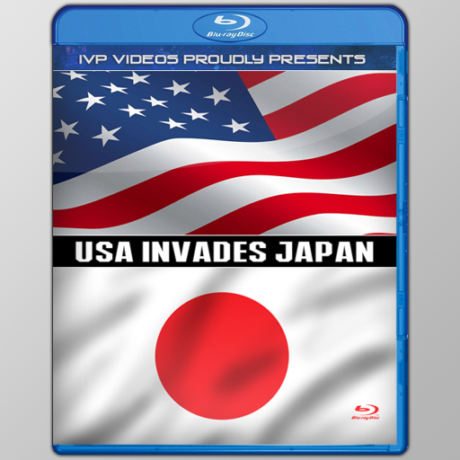 USA Invades Japan (Blu-Ray with Cover Art)