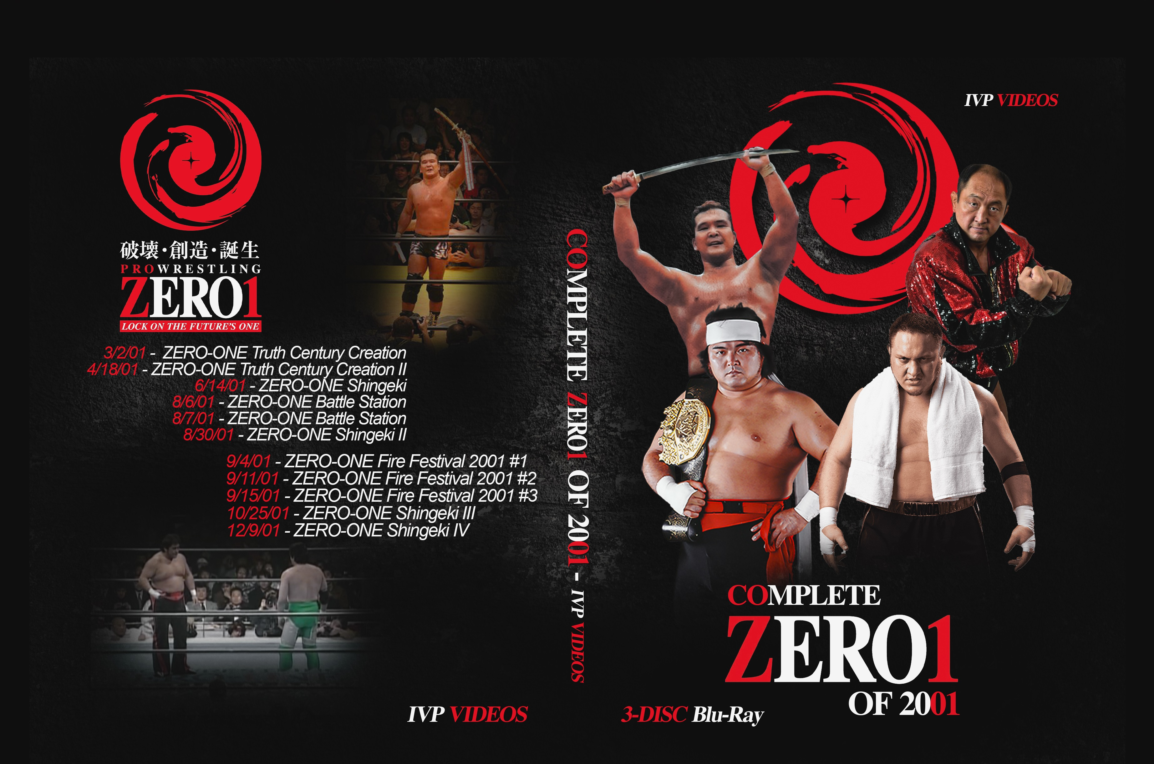 Complete Zero1 in 2001 (3 Disc Blu-Ray with Cover Art)