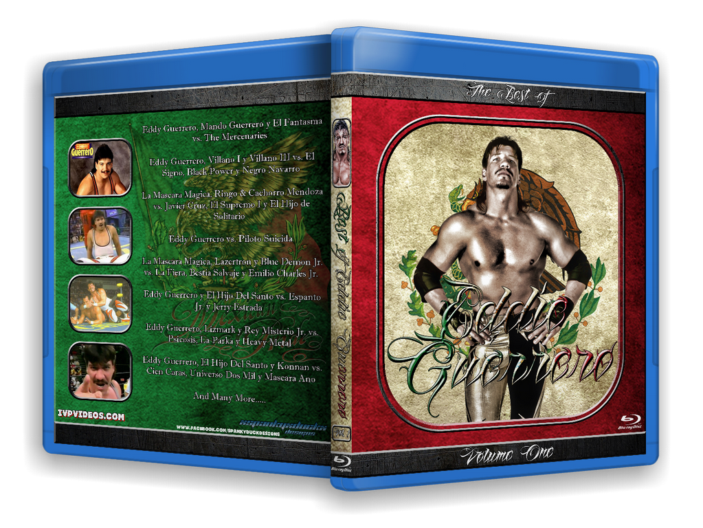 Best of Eddy Guerrero V.1 (Blu Ray with Cover Art)