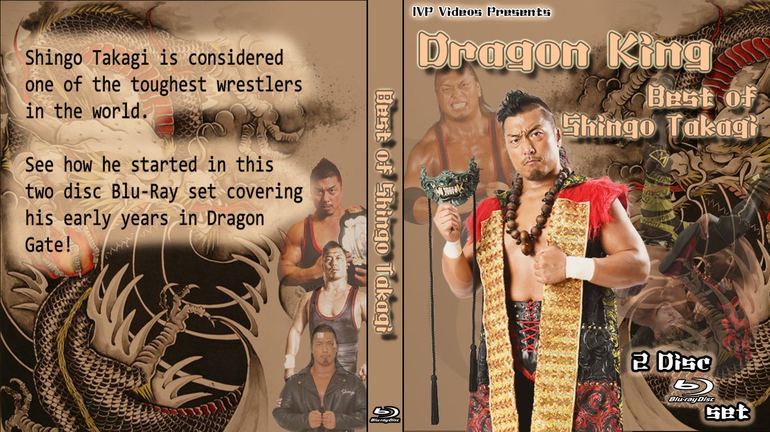 Best of Shingo (2 Disc Blu-Ray with Cover Art)